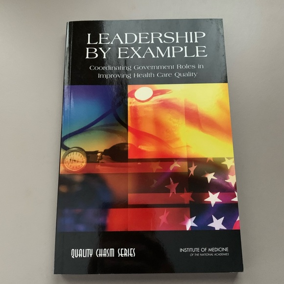 New Leadership by Example book